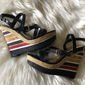 BAMBOO STRIPED WEDGES
